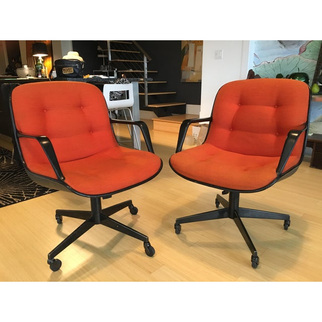 """Steelcase Rolling """"Pollack"""" Swivel Office Chairs - Image 2 of 11"""