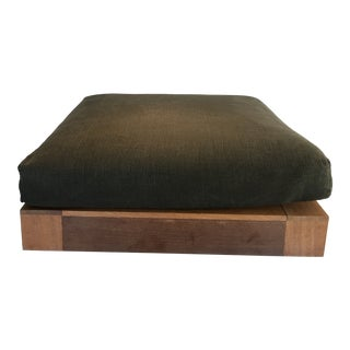 James Perse Home Furniture Collection Ottoman For Sale