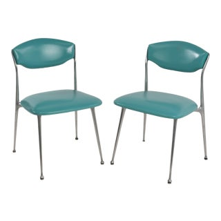 Mid-Century Shelby Williams Style Gazelle Chairs - a Pair For Sale