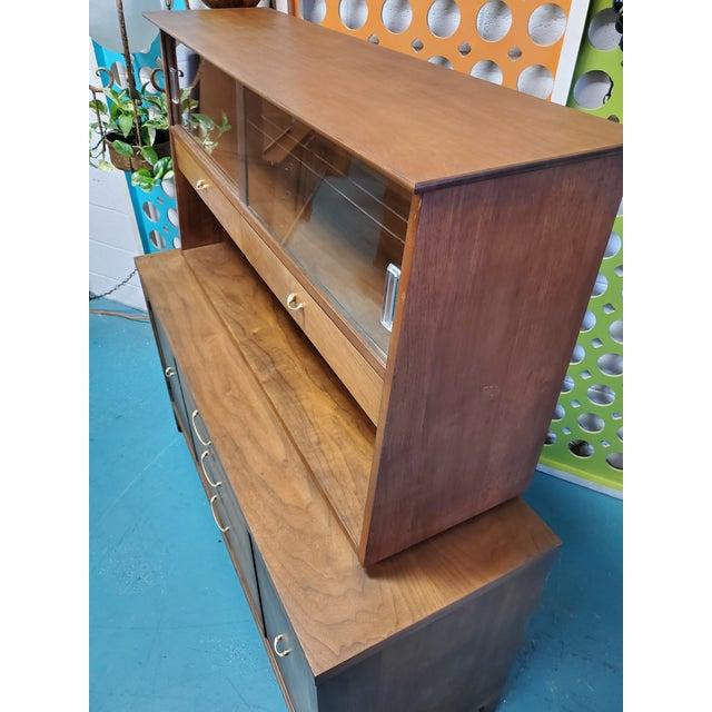 Mid-Century Modern 1960s Mid Century Scandinavian Display Cabinet For Sale - Image 3 of 5
