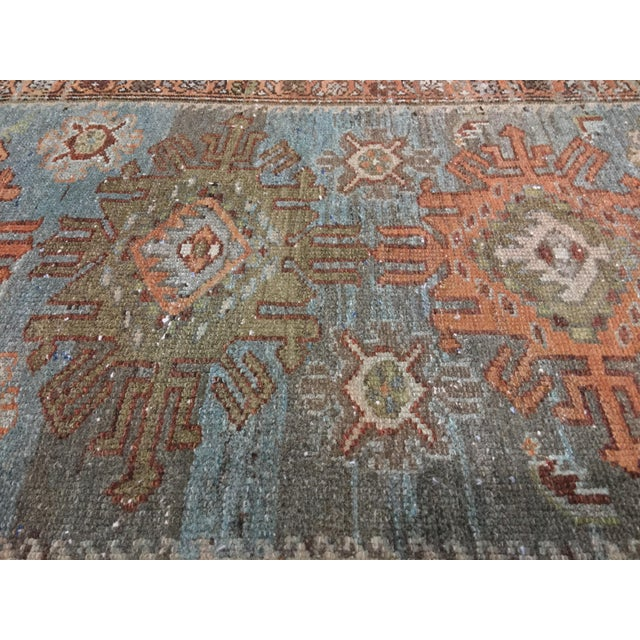 Antique Persian Malayer Runner - 2′10″ × 19′ - Image 7 of 11