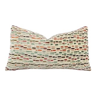 Gp & J Baker Lifestyle Maynard Oatmeal/Multi Lumbar Pillow Cover For Sale