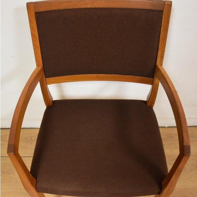 Svegards Markaryd Teak Arm Chair - Image 4 of 9