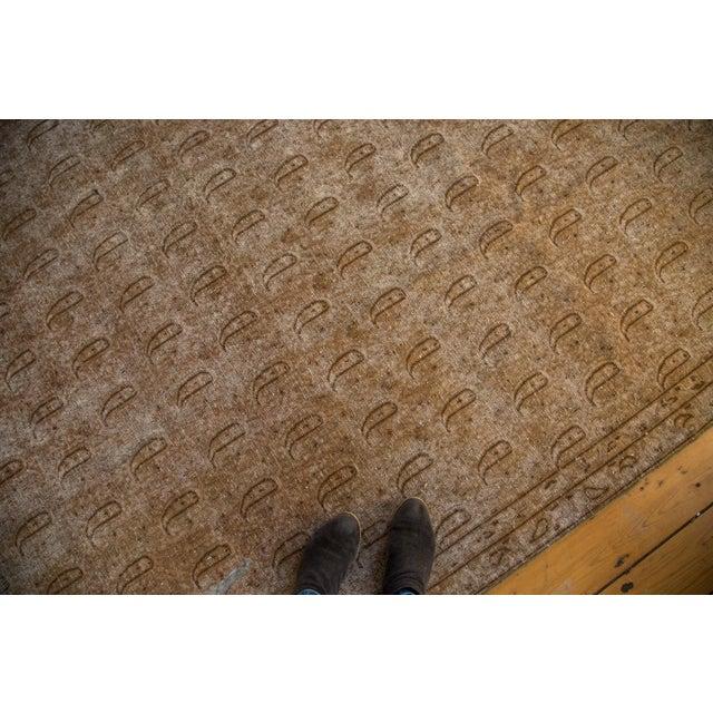 """Distressed Vintage Khorassan Carpet - 7'10"""" x 11'3"""" - Image 3 of 7"""