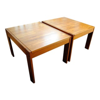 Danish Modern Teak Side Tables - A Pair