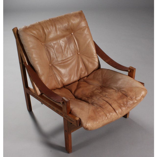 1970s Thorbjørn Afdal Armchairs- A Pair For Sale - Image 5 of 9