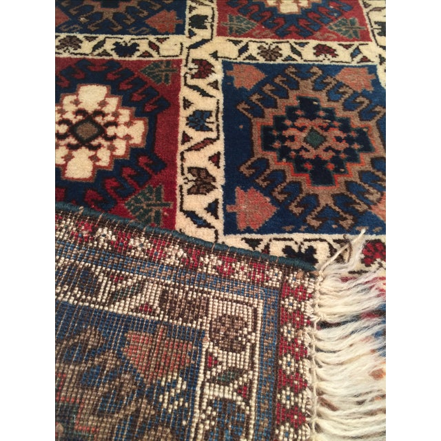 "Persian Tribal Yalameh Rug - 1'7"" X 2'5"" - Image 3 of 3"