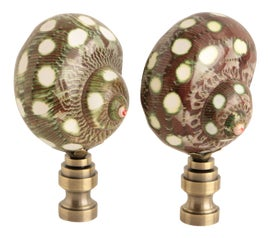 Image of Mother-of-Pearl Finials