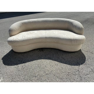 Biomorphic Kidney Bean Shape Sofa, Vladimir Kagan Style Preview