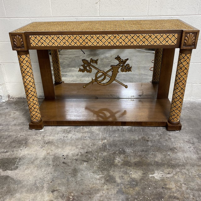 Italian Adolfo Genovese Console Table For Sale - Image 12 of 12