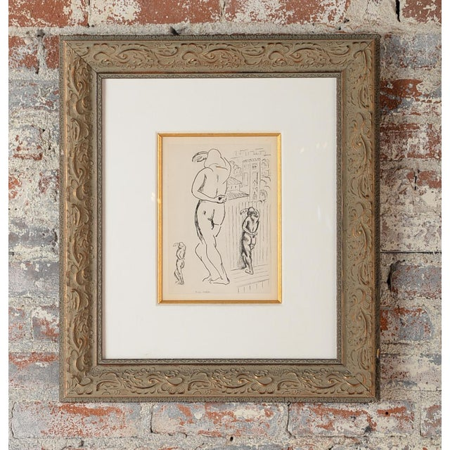 """Matisse """"Planche 2"""" Portrait of a Woman Lithograph - Image 2 of 10"""