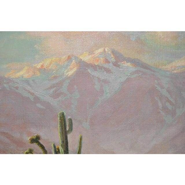 Impressionism Arthur Best (1859-1935) American Desert Landscape C.1920s For Sale - Image 3 of 7