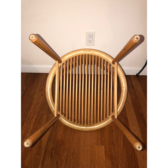 Helmut Lubke Mid-Century Sculptural Chairs - Set of 4 For Sale - Image 10 of 12