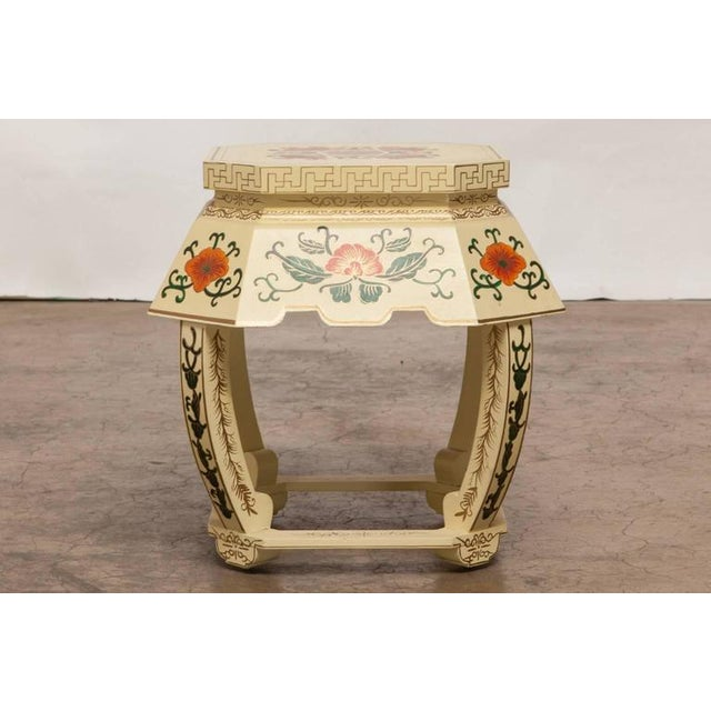 Chinese Lacquered Garden Stool - Image 2 of 10
