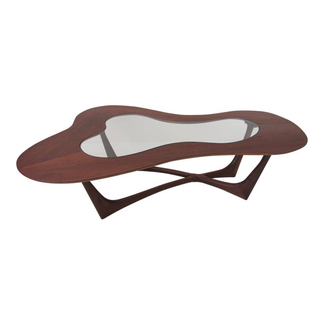 Vintage Biomorphic Coffee Table by Erno Fabry - Image 1 of 9