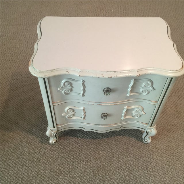 Ivory 2-Drawer Bedside Table - Image 2 of 8