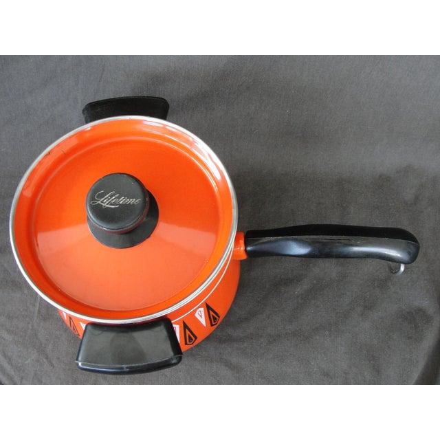 Cathrineholm Style Enameled Double Boiler - Image 3 of 8