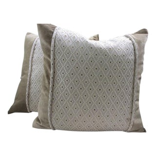 Colefax and Fowler Pillow Covers - a Pair For Sale