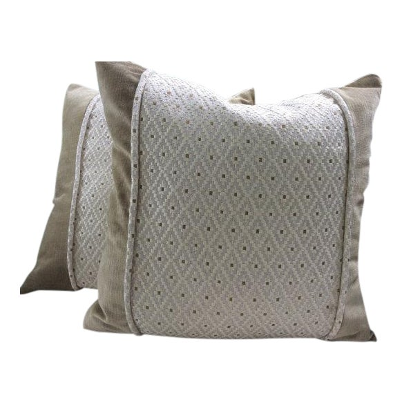 Colefax and Fowler Pillow Covers - a Pair - Image 1 of 4