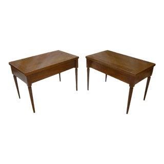 Pair of Robsjohn-Gibbings Side Tables For Sale