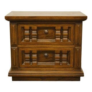 Thomasville Furniture Casa Grande Collection Spanish Mediterranean Nightstand For Sale