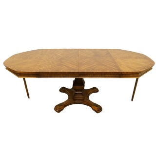 Italian Mediterranean Style Octagonal Dining Table For Sale