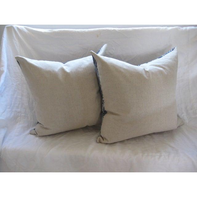 Custom Hand-Spun Linen Pillows - A Pair - Image 3 of 8