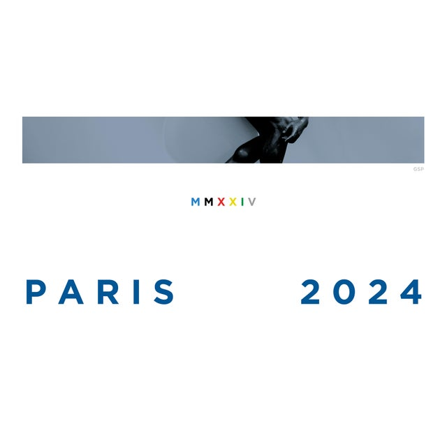 Contemporary Paris 2024 Poster For Sale - Image 3 of 5