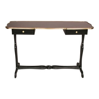 French Mid-Century Console or Sofa Table by Maison Jansen