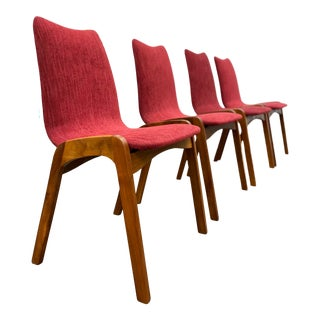 Mid Century Modern Dining Chairs by Chet Beardsley for California Living Designs Inc. - Set of 4 For Sale