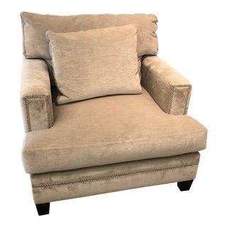 Linen Velvet Gramercy Chair