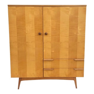 Mid-Century Modern Armoire Dresser For Sale