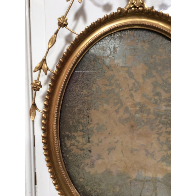 18th Century Antique Neoclassical Mirror For Sale - Image 4 of 6