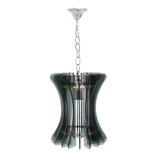 Veca Italian Mid-Century Modern Pendant Light For Sale