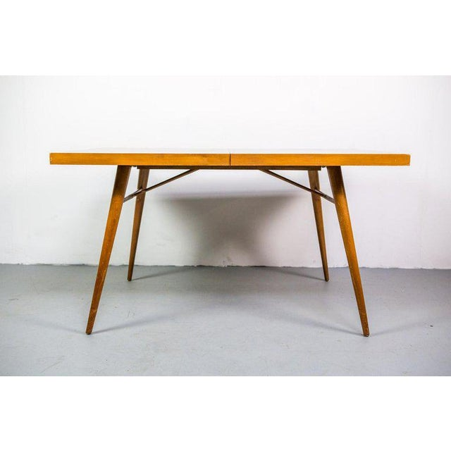 Mid-Century Modern Paul McCobb Planner Group Expandable Drop-Leaf Dining Table For Sale - Image 3 of 8