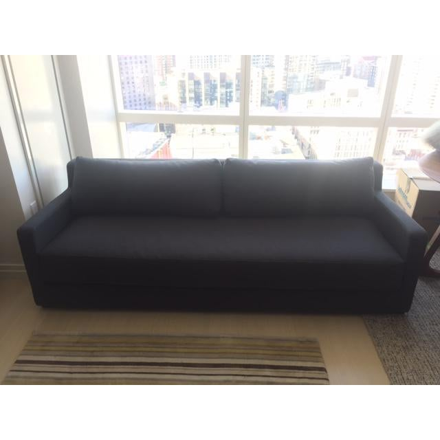 Gus Modern Grey Sleeper Couch - Image 5 of 5