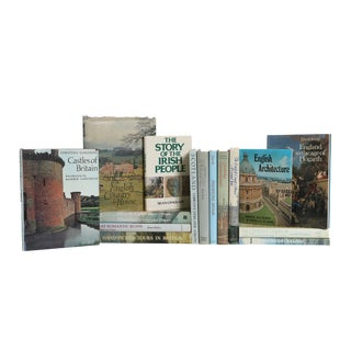 Pastel British Book Set, (S/15) For Sale