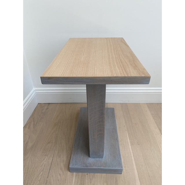 Architectural Modern Side Table For Sale In San Francisco - Image 6 of 12