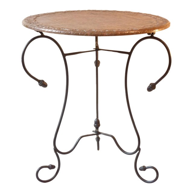 Copper Top Table For Sale