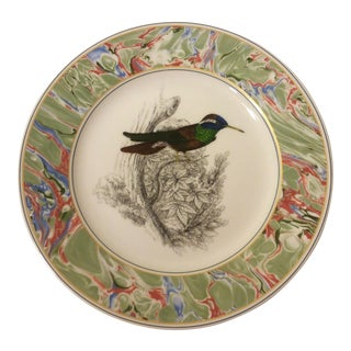The Bombay Company Hummingbirds Dinner Plate For Sale