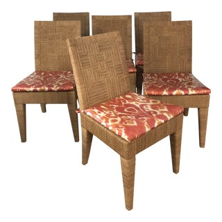 Palacek Woodside Dining Chairs - Set of 6 For Sale