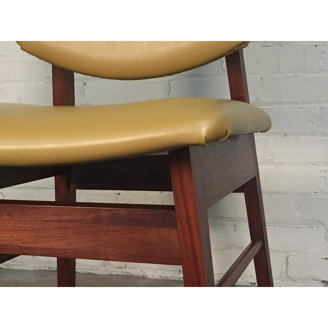 Jens Risom Style Mid-Century Modern Desk Chair - Image 8 of 8