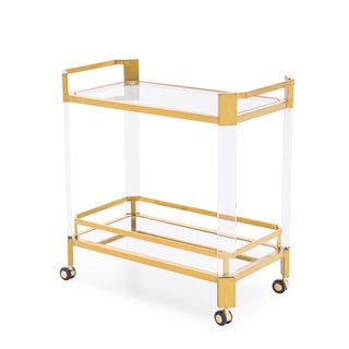 Blink Home Bar Antique Gold Trolley Preview