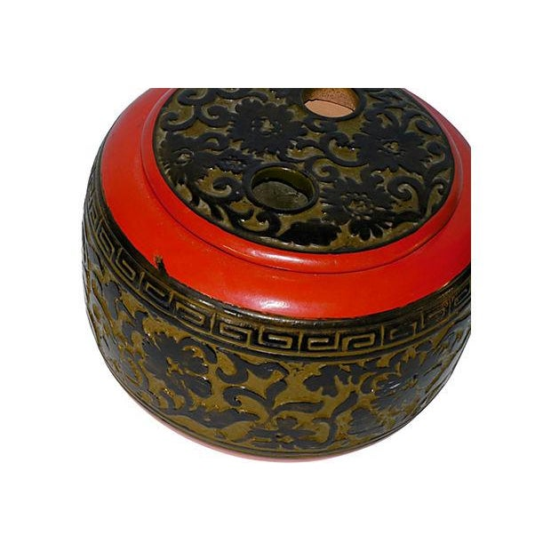 Asian Vintage Japanese Rice Pot For Sale - Image 3 of 5