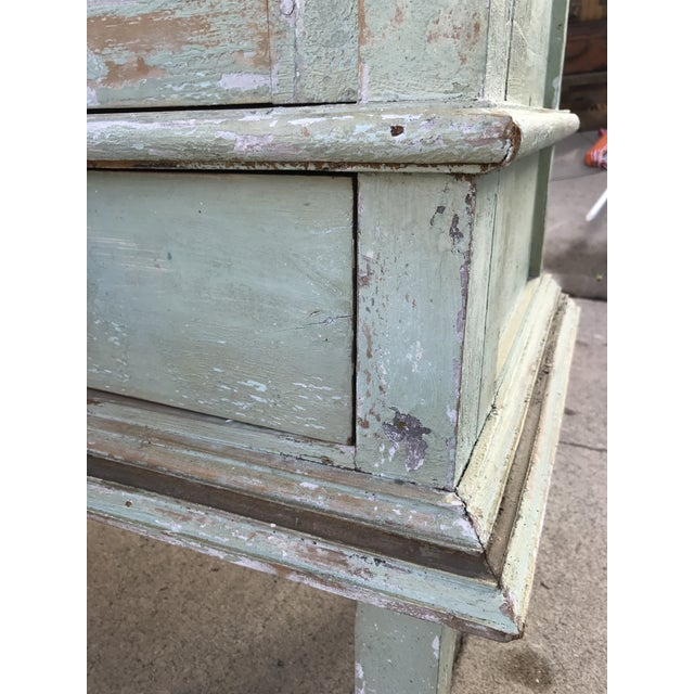Green Shabby Chic Cabinet - Image 3 of 11