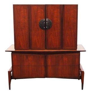 1960s Vintage Hobey Helen for Baker Furniture Highboy For Sale