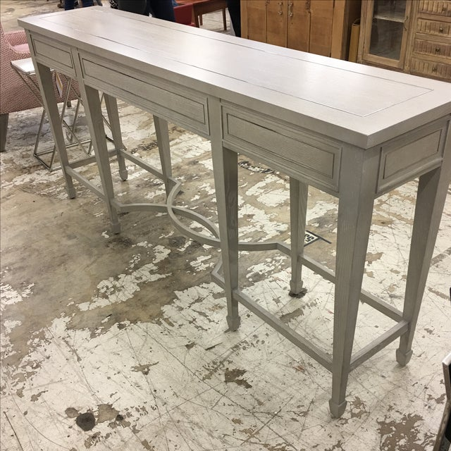 Bernhardt 3-Drawer Console Table - Image 5 of 6