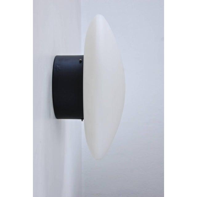 Aluminum Large Arteluce Attributed Flush Mount For Sale - Image 7 of 10