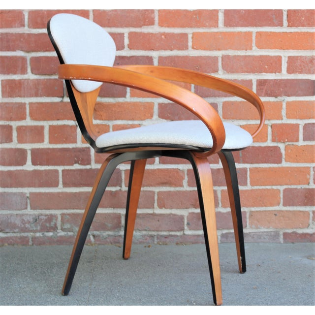 1950s Vintage Norman Cherner for Plycraft Molded Plywood Dining Chairs- Set of 6 For Sale In Sacramento - Image 6 of 13
