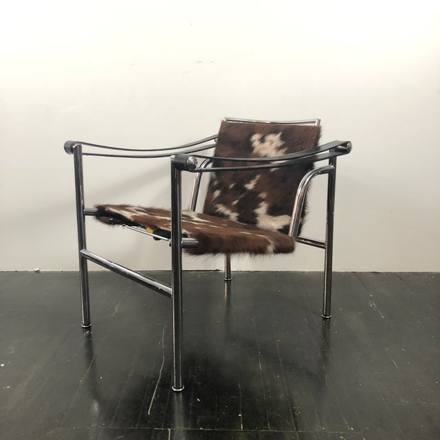 Bauhaus Vintage Le Corbusier Cassina Lc1 Chair For Sale - Image 3 of 13
